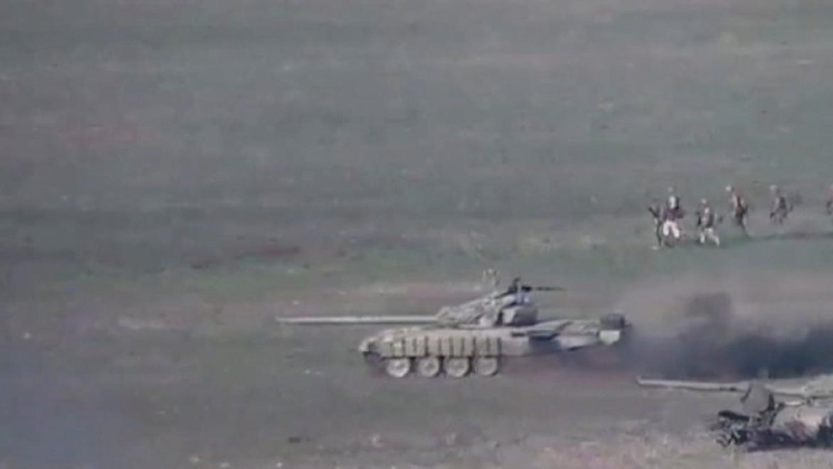 Azerbaycan Ermenistan savaşından son dakika gelişmeleri... İlk kareler geldi!