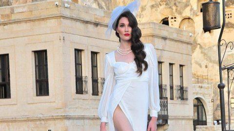 Modeller Kapadokya'da yürüdü