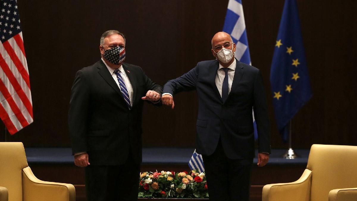 ABD ve Yunanistan'dan ortak Doğu Akdeniz açıklaması: Ne gerekiyorsa yapılacak