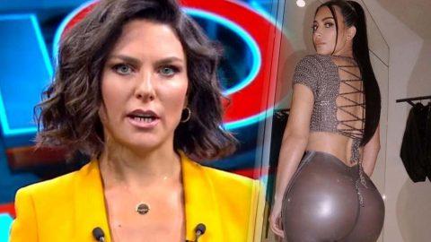 Ece Üner'den Kim Kardashian'a gönderme
