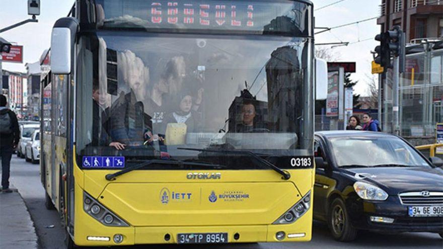 İBB'den otobüs durağındaki arbedeyle ilgili açıklama!