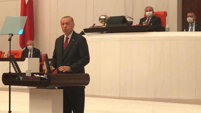 Erdoğan'dan Bahçeli'ye AYM desteği: Seve seve ben de varım