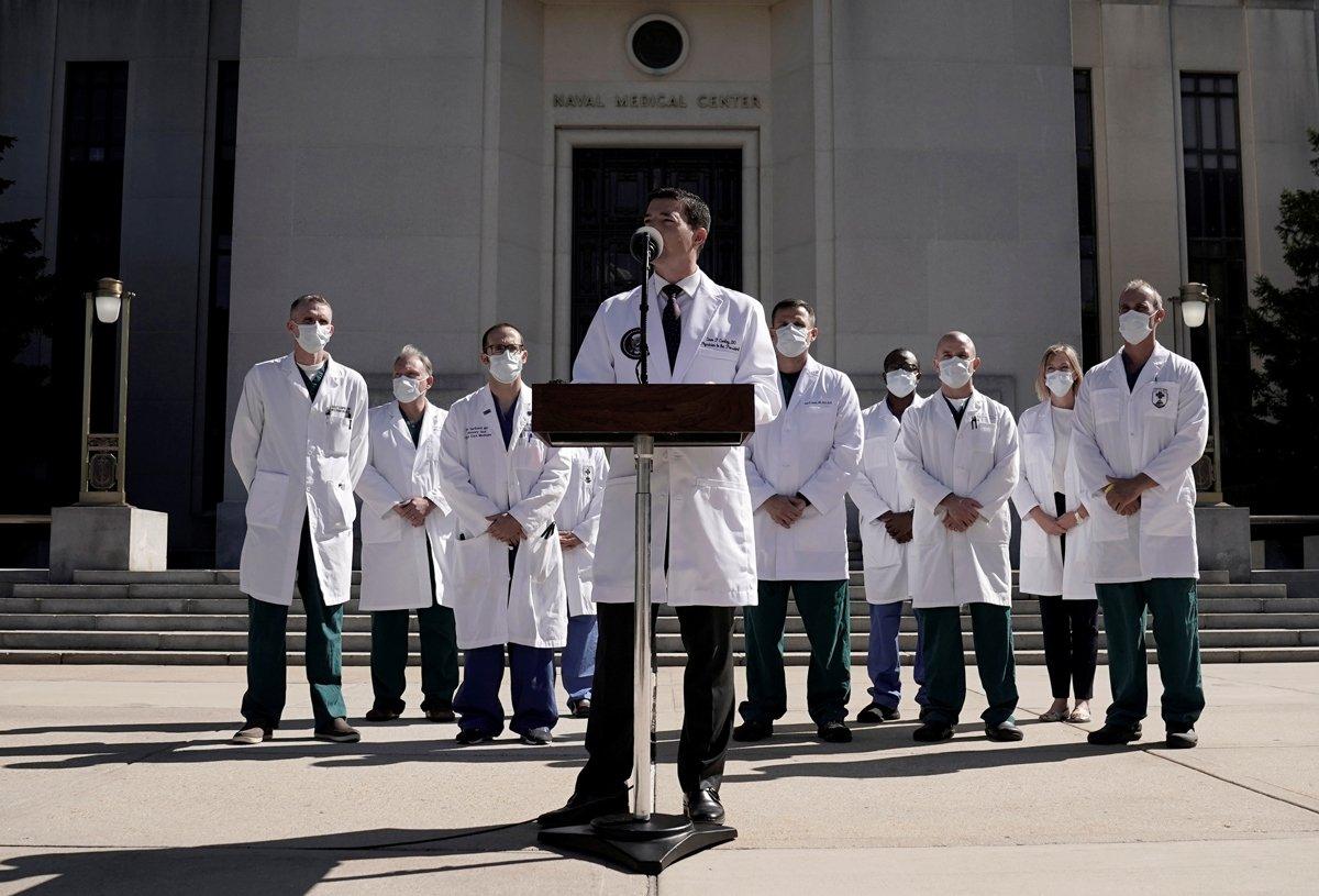 trump doktorlari reuters 1