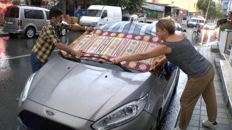 Doludan 5 bin araç zarar gördü, şirketler hasar merkezi kurdu