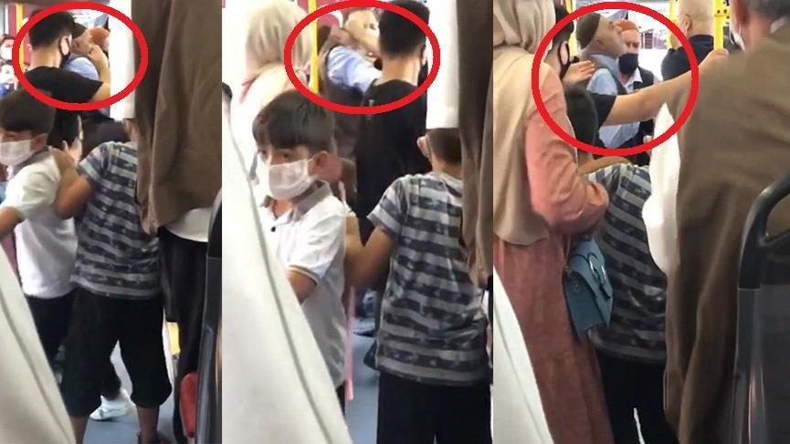 Türkiye için çıldırma vakti! Maskesini yarım taktığı için kendisine tokat atan kadına tükürdü