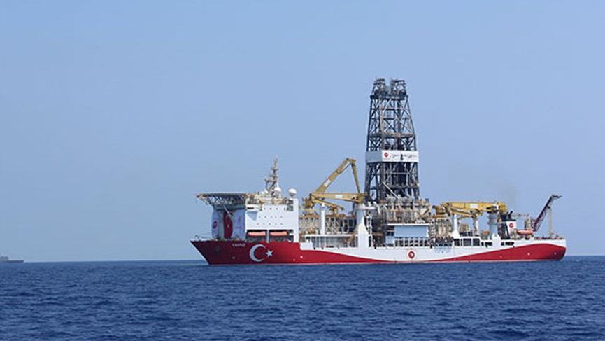 Yavuz sondaj gemisi Taşucu Limanı'na döndü