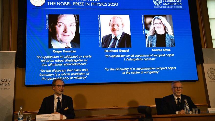 2020 Nobel Fizik Ödülü kara deliği bulan bilim insanlarına verildi