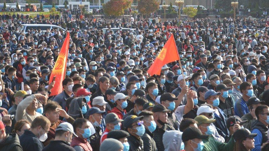 Dışişleri'nden Kırgızistan açıklaması: Endişe duyuyoruz