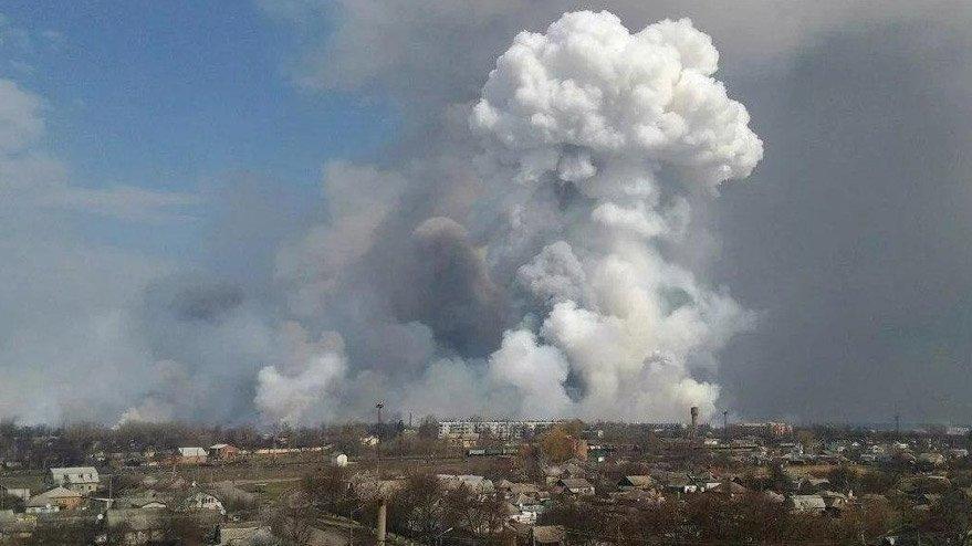 Rusya'da mühimmat deposunda patlama! Köyler boşaltıldı