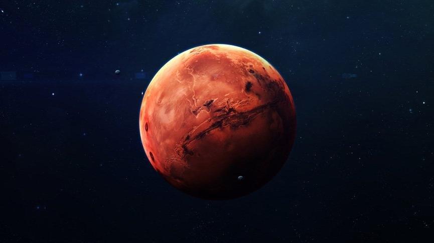 Dünya'ya yaklaşan Mars nasıl görünecek?
