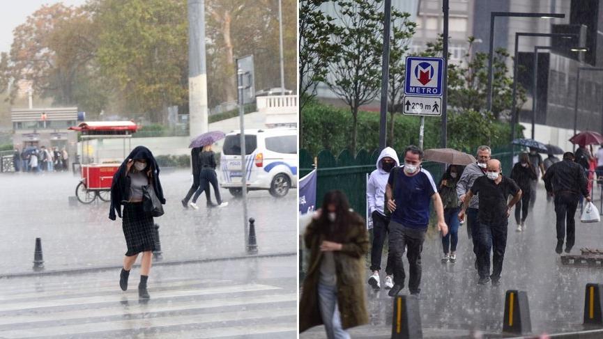 Meteoroloji'den birçok ile yeni sağanak yağış uyarısı! Sarı ve turuncu alarm verildi