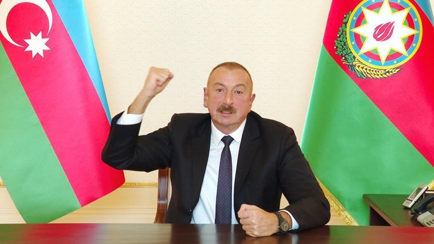 Aliyev: Temas hattını kırdık! Bu bizim tarihi zaferimiz