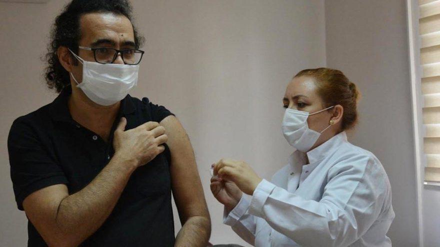 Çin'den gelen corona aşısı, Tepecik Hastanesi'nde de uygulanıyor