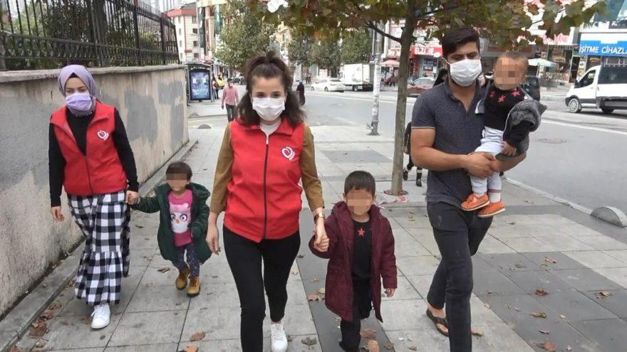 Esenyurt'taki çaresiz babanın çocukları geçici olarak devlet korumasına alındı