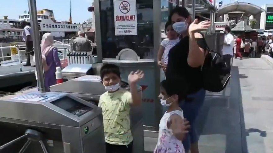 100 bin anne ücretsiz ulaşım kartı aldı