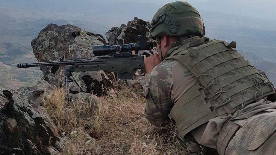 Şırnak'ta 5 işçiyi şehit eden PKK'lı etkisiz hale getirildi