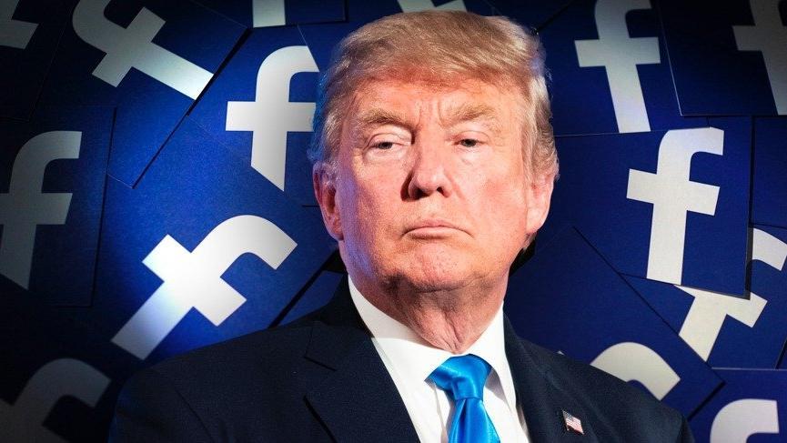 Facebook Trump destekçisi 330 hesabı uçurdu