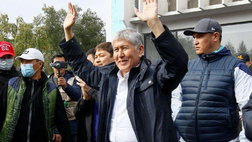 Destekçileri hapisten çıkarmıştı! Eski Kırgız lider Atambayev yeniden tutuklandı
