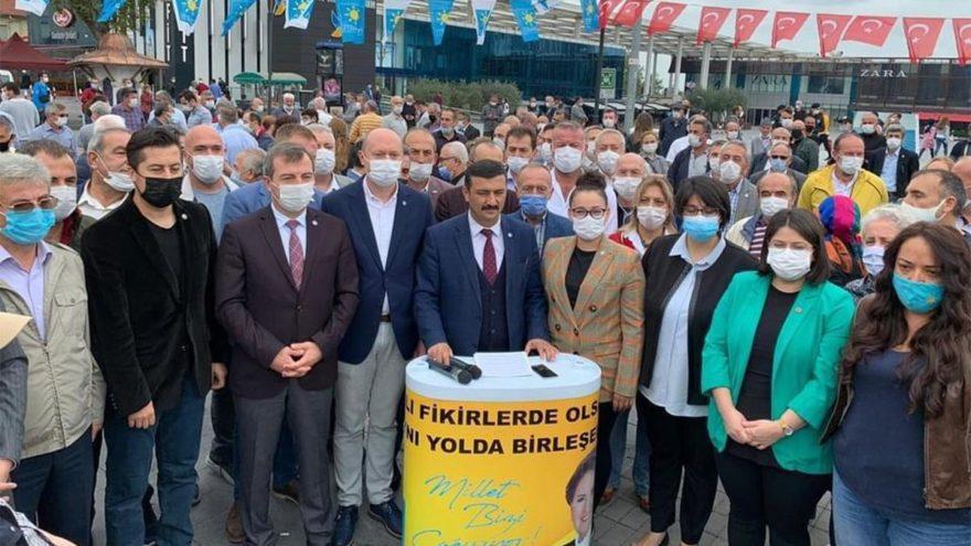 İYİ Partili Türkoğlu: Bursa'da su kazıktan ibaret