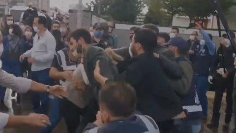 Ankara Garı katliamı anmasına polis müdahalesi