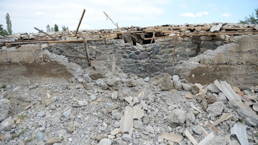 Ermenistan, Terter bölgesine saldırdı