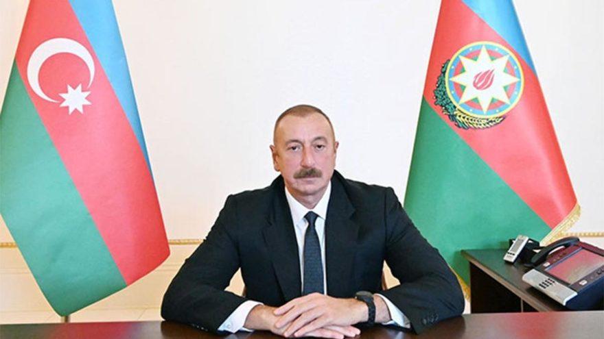 Azerbaycan Cumhurbaşkanı Aliyev'den Ermenistan'a ültimatom