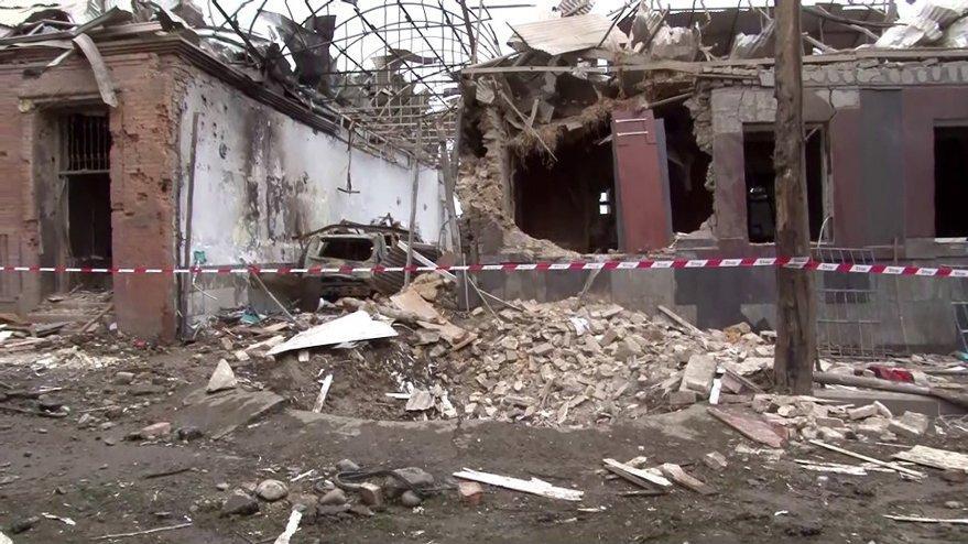 Ermenistan birlikleri Gence bölgesine saldırdı