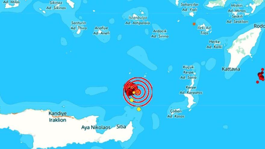 Akdeniz'de deprem fırtınası: 6 saatte 48 sarsıntı yaşandı