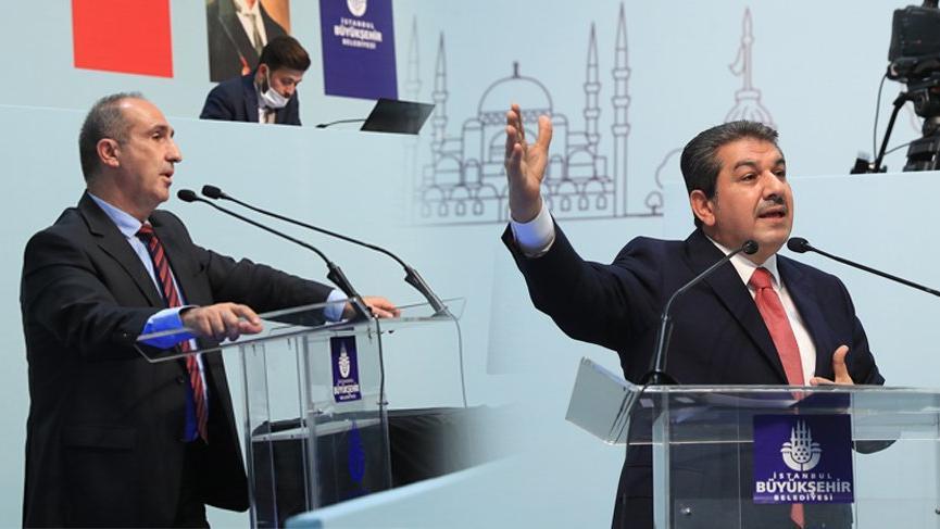 İBB Meclisi'nde CHP ve AKP arasında icraat polemiği