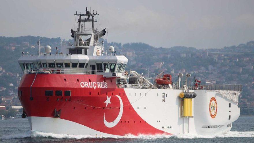 Almanya ve Yunanistan'dan Oruç Reis tepkisi: Gemi çekilmeden görüşme yok