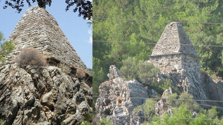 Yıllarca türbe sanıldı, piramit mezar çıktı