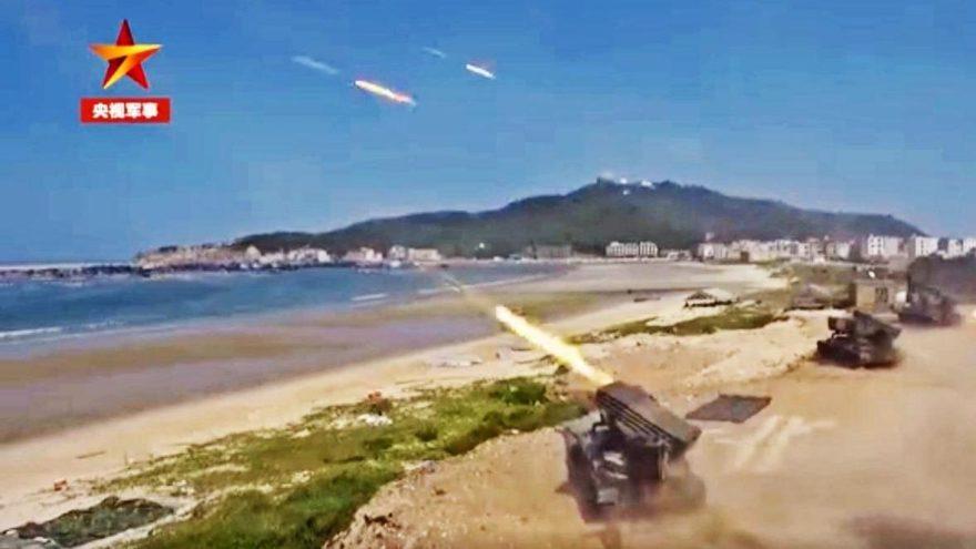 ABD-Çin gerilimi Tayvan'a sıçradı: Çıkarma tatbikatı yaptılar