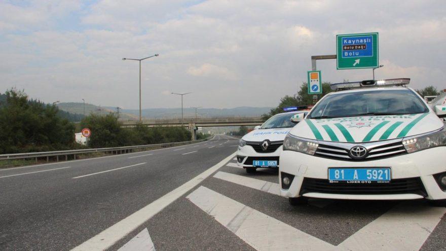 TEM Otoyolu Bolu Dağı Ankara yönü bir ay kapalı kalacak