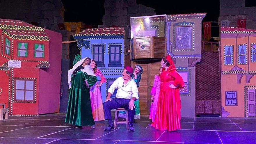 Patara'da bin 500 yıl sonra ilk kez tiyatro oyunu sahnelendi