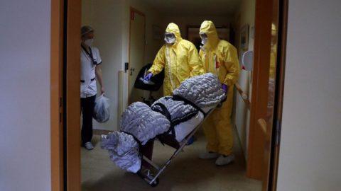 Corona virüsü salgını: Rusya'da ölü sayısı rekoru