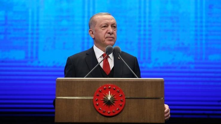 Erdoğan, 2020-2021 Yükseköğrenim Akademik yılı açılış töreninde konuştu