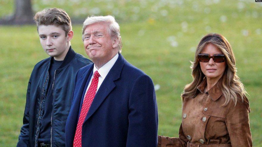 First Lady Melania itiraf etti! Trump'ın 14 yaşındaki oğlu da coronaya yakalanmış