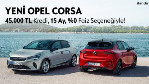 Yeni Opel Corsa %0 Faizle!