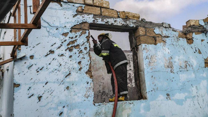 Ermenistan, Türkiye sınırındaki Nahçıvan'ı vurdu