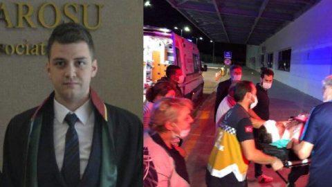 Bıçaklı saldırıya uğrayan genç avukat, sol gözünü kaybetti