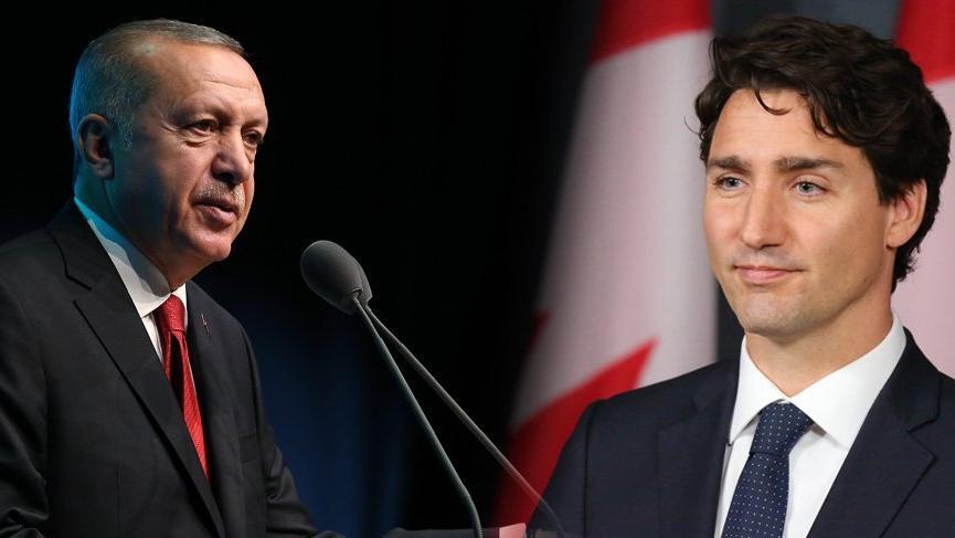 Erdoğan'dan Kanada'ya askeri ürün telefonu