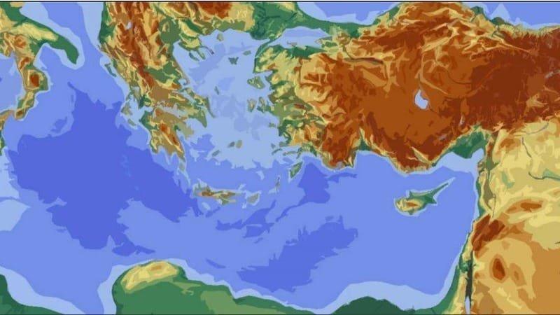 Rus Büyükelçiliği'nden Doğu Akdeniz'de haritalı mesaj