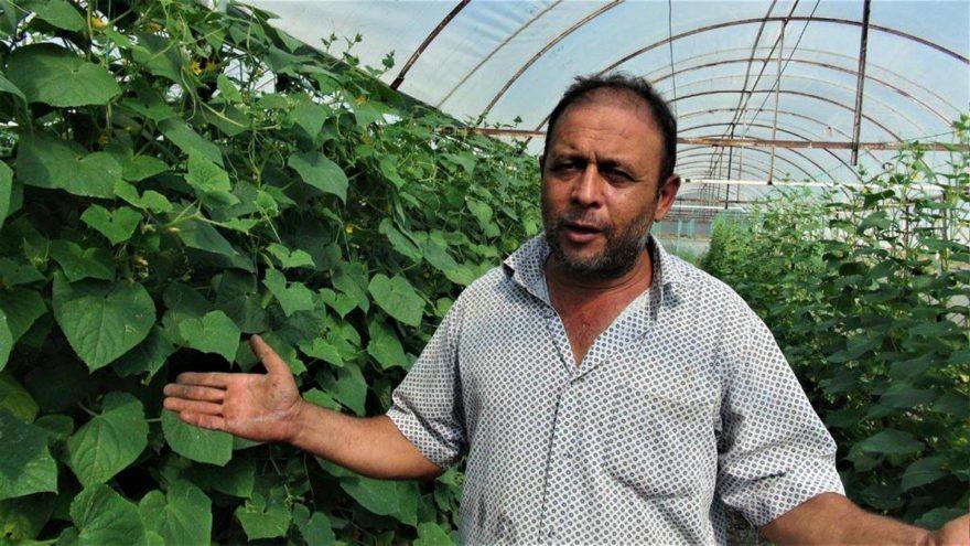 Seraları icradan satılan çiftçiler isyan etti
