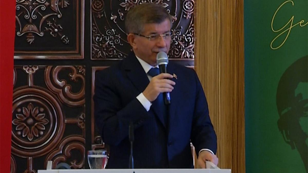 Davutoğlu'ndan AKP ve MHP'ye sert tepki: TBMM derhal özel oturumla toplanmalı