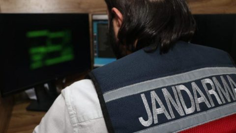 Jandarma 354 internet sitesinin erişimini engelledi
