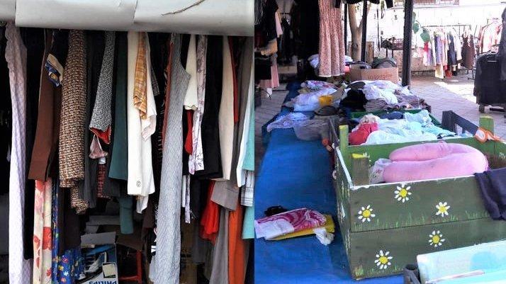 Muğla'da bir garip hırsızlık vakası… Sokak hayvanları için satılan 2. el giyecekler çalındı