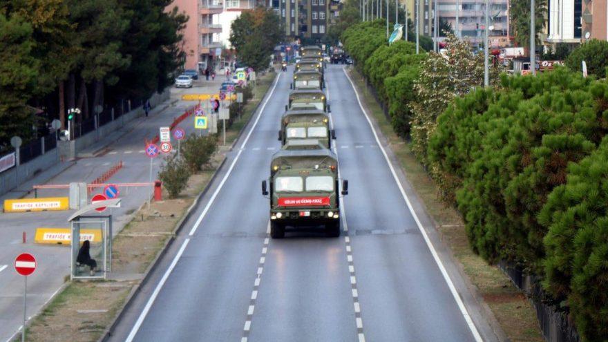 S-400 ikinci konvoyu da Samsun'dan geçti