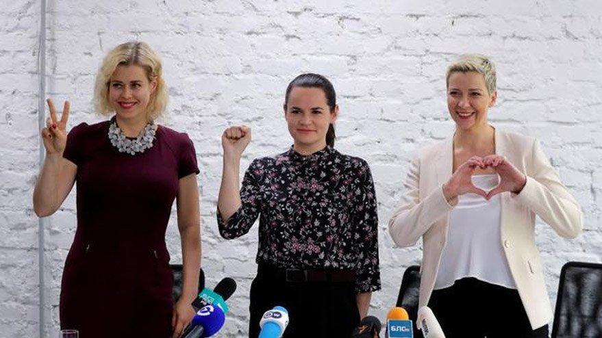 Sakharov İnsan Hakları ve İfade Özgürlüğü ödülü Belaruslu muhalif kadınlara verildi