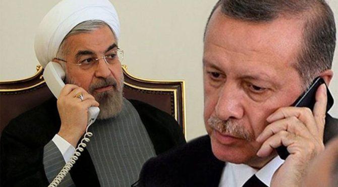 Erdoğan ve Ruhani'den Azerbaycan görüşmesi