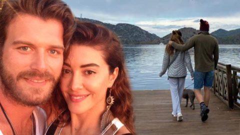 Kıvanç-Başak Tatlıtuğ çiftinin romantik tatili